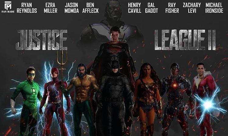 Fan Made บน Instagram Justice League 2 Fan Made Poster Justiceleague Justiceleague2 Justiceleaguedarkapokolipswar Justice League 2 League Justice League