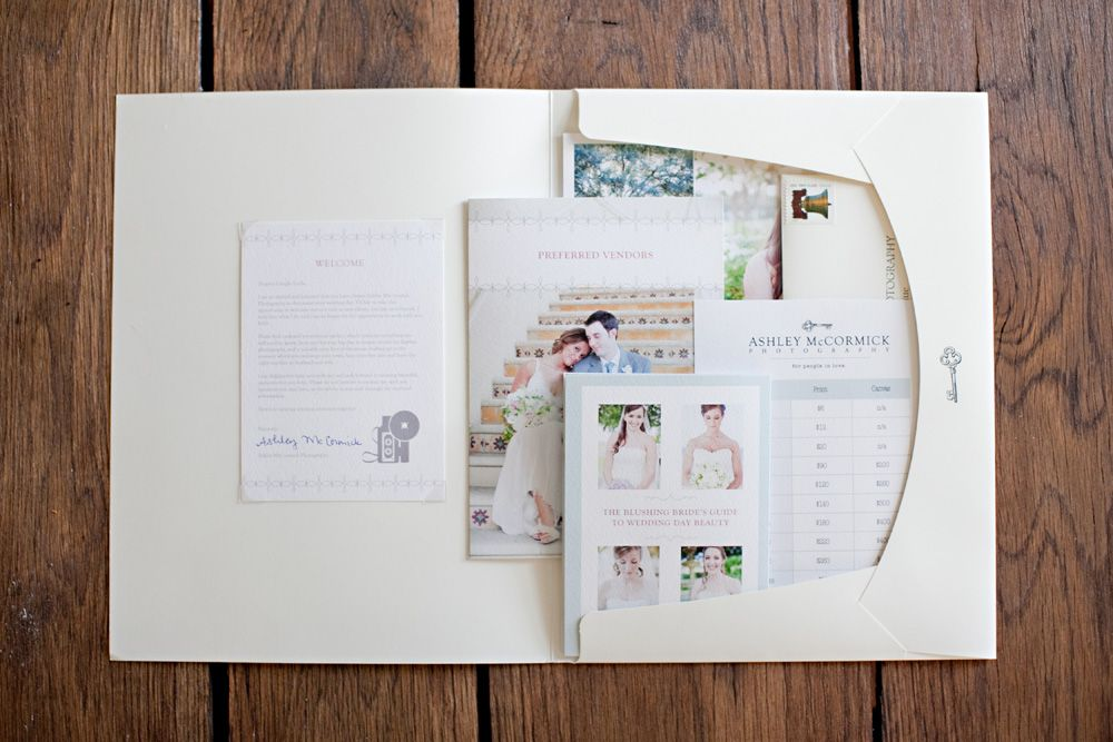 Wedding Client Welcome Packet Photo Template 2