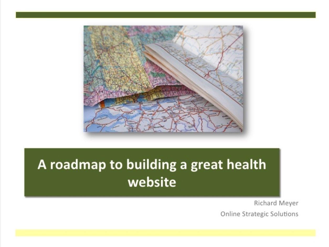 a best in class health website