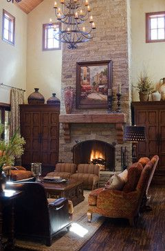 Texas Hill Country Style Traditional Living Room Oklahoma City By Brent Gibson Classic Home Design