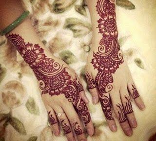 Henna Tangan Untuk Pengantin Harga Henna Tangan Pengantin Motif