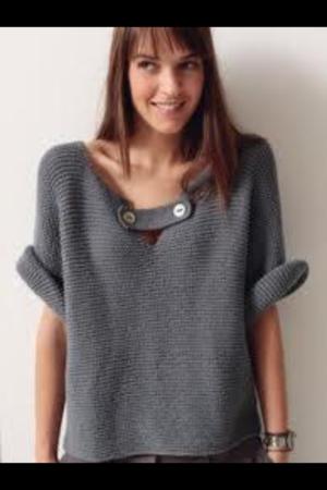 18c3fa772 Jersey de lana para mujer hecho a mano