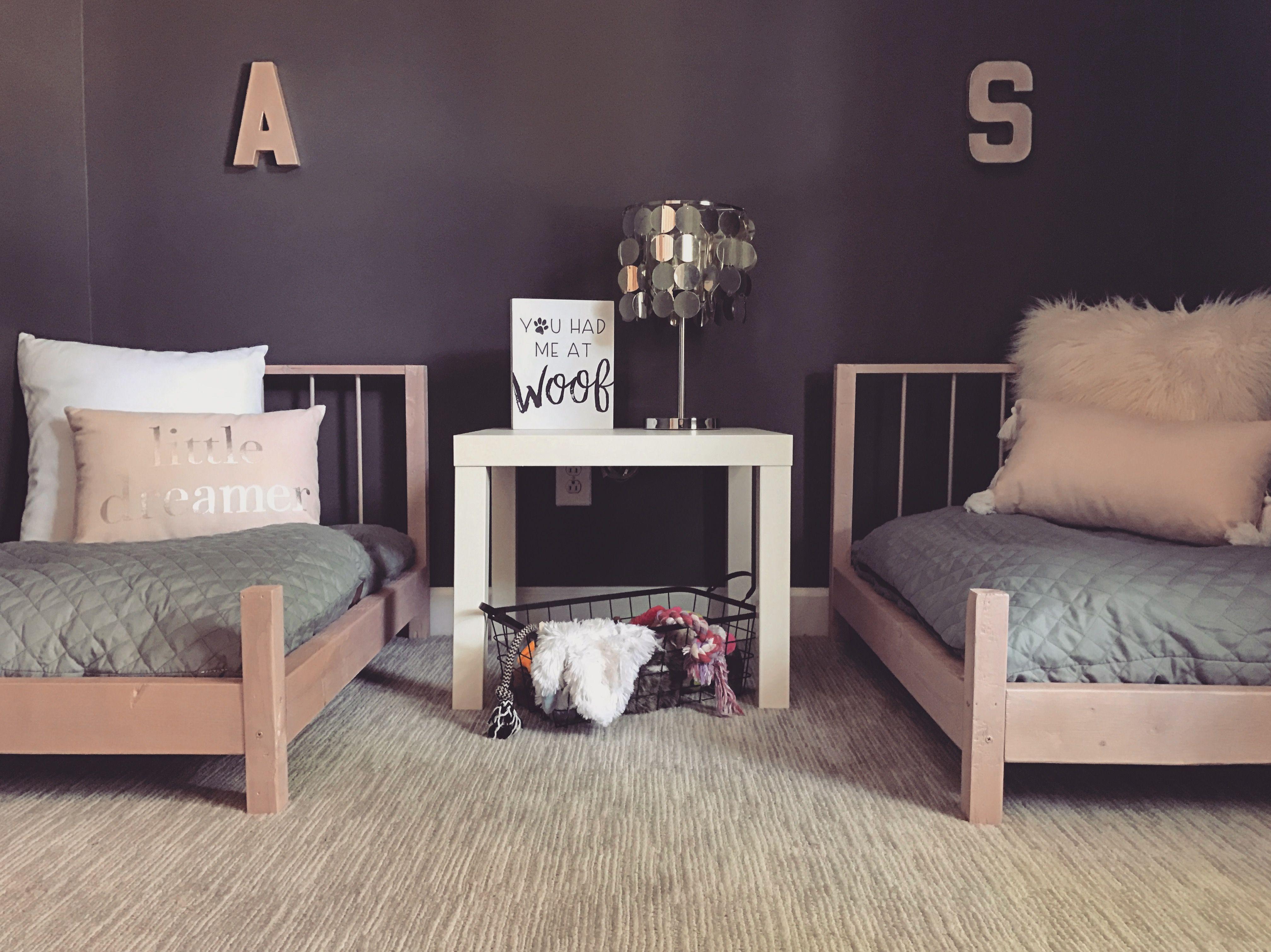 Dog Bedroom Diy Dog Beds Charcoal And Rose Quartz Bedroom Grey And