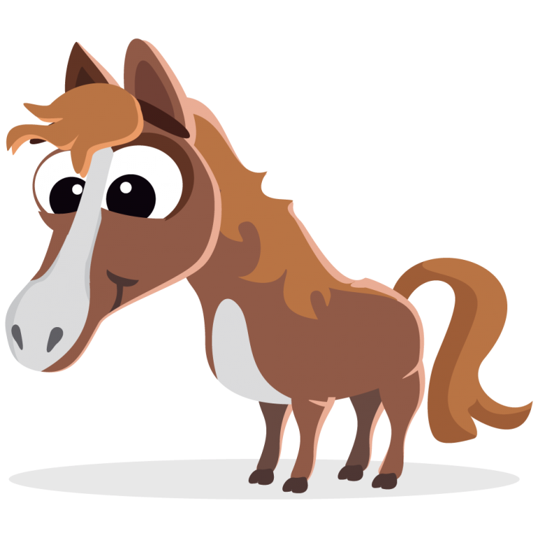 Horse Png Clipart 11 Free Download Horse Cartoon Happy