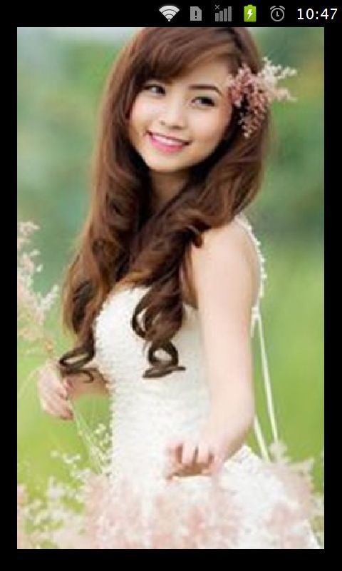 white clothes girl