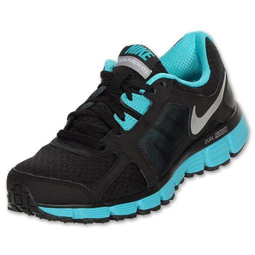 Nike Dual Fusion ST 2 Women's Running Shoes   FinishLine.com    Black/Metallic