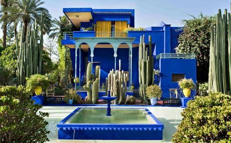 Marrakech attractions marrakech villas and morocco for Jardin yves saint laurent marrakech