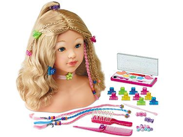 Makeup Hairstyling Doll At Lakeshore Learning Lakeshore Learning Gifted Kids Toys For Girls
