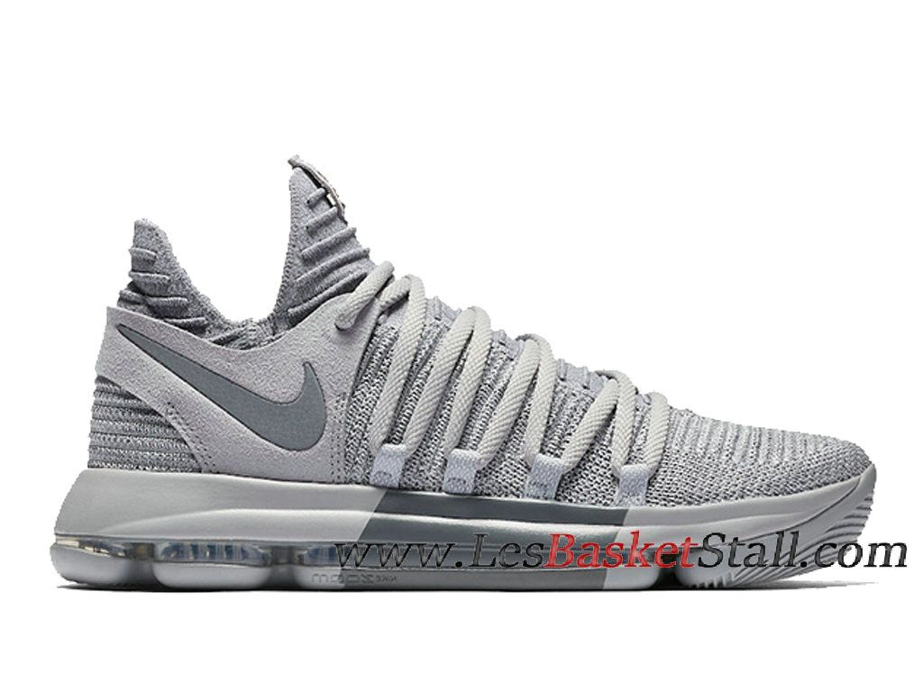 Nike KD 10 Wolf Grery Cool Grey Chaussures Nike Prix Pas