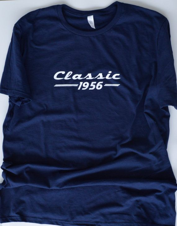 Classic 1956 T Shirt 60th Birthday Gift For Men By LiveLoveTees