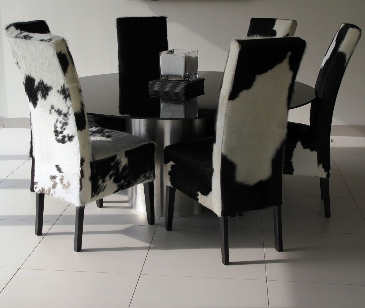 cow hide diningchairs | Cowhide Dining Chairs – Stylish ...