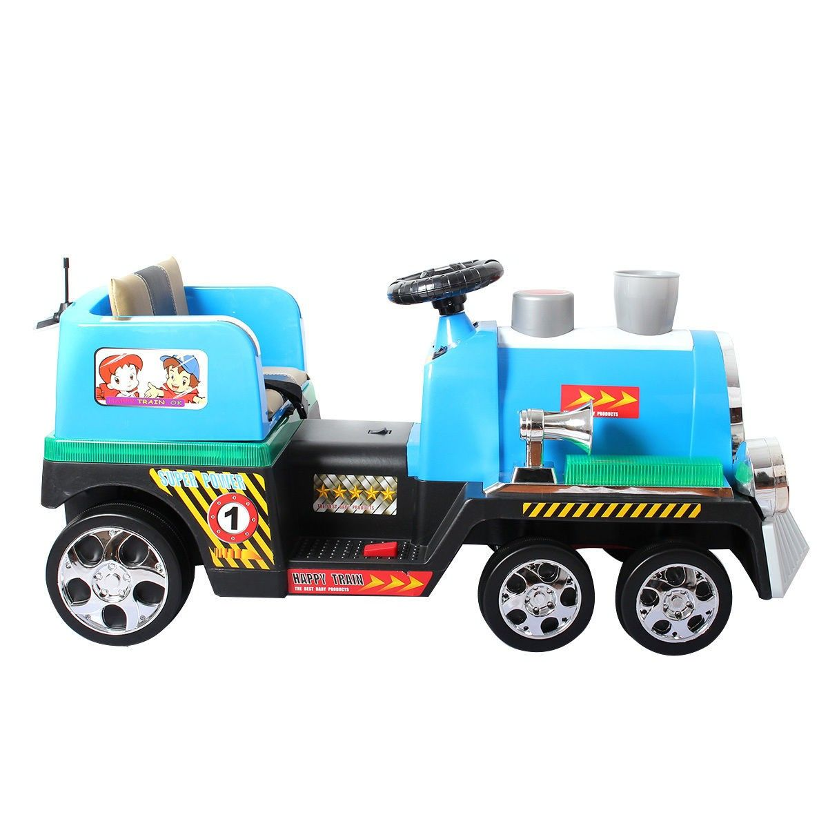 2 4g kids ride on train electric remote control train w lights