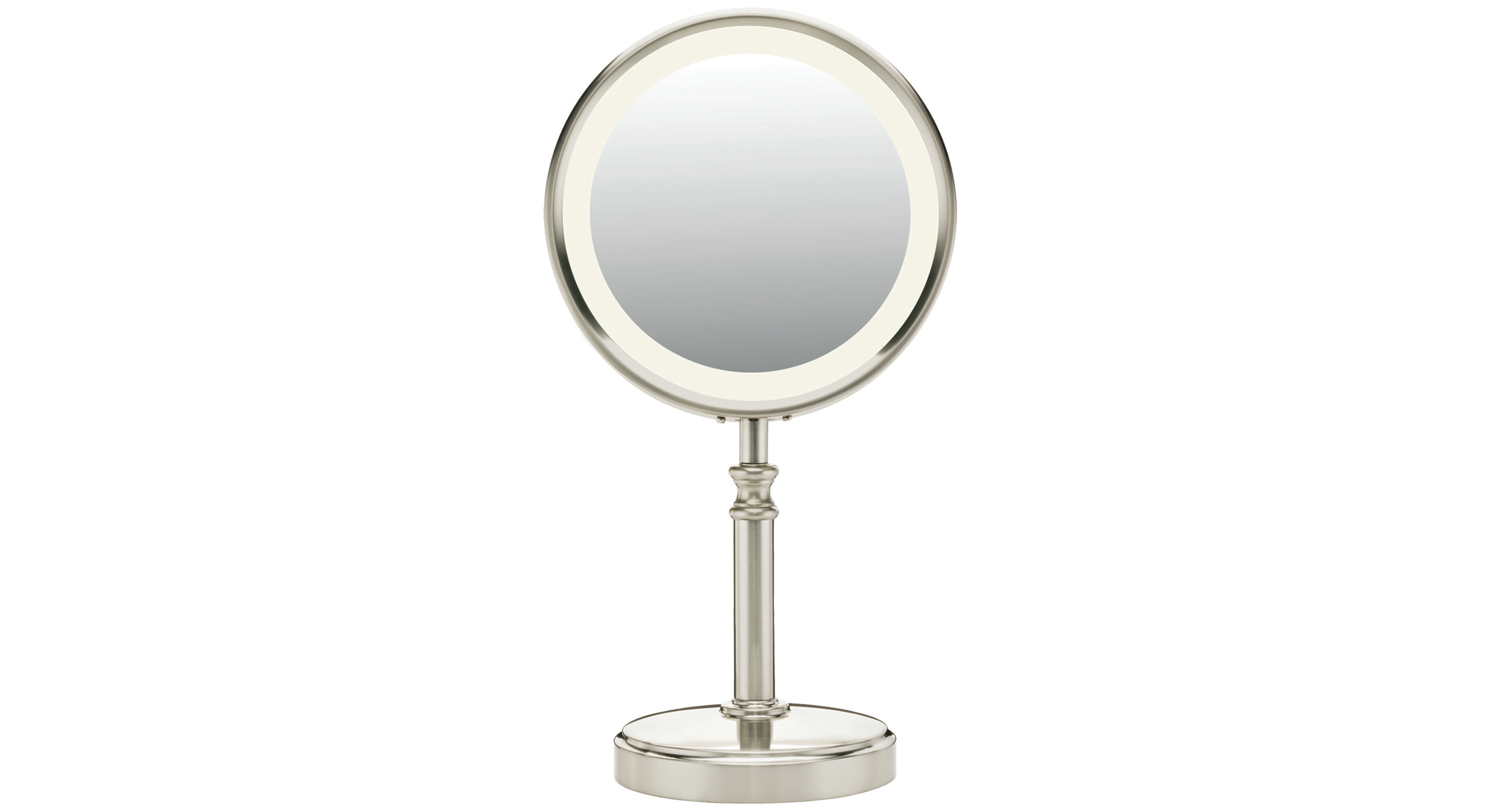 Double Sided Fluorescent Mirror Makeup Mirror With Lights