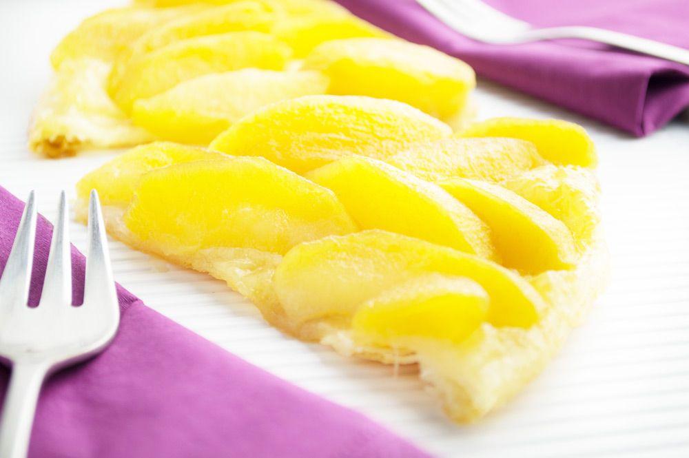 Tarte Tatin ist eine Apfeltorte. Dieses Rezept ist perfekt für Menschen, die nicht so gerne backen - aber Mehlspeisen lieben.
