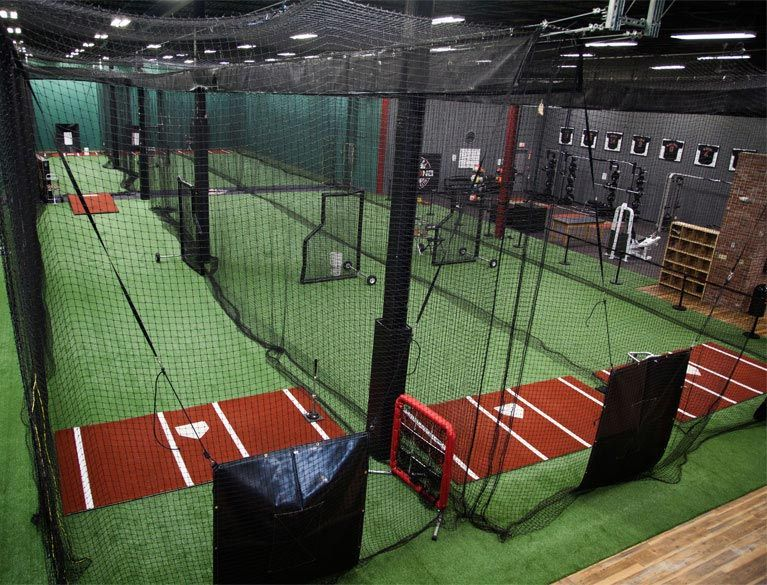Indoor Batting Cage Layouts Indoor Batting Cages For Baseball Softball On Deck Sports Indoor Batting Cage Batting Cages Indoor Soccer Field