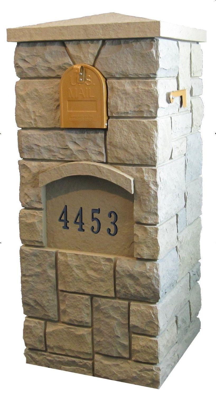 Post Covers Faux Columns Faux Brick Post Covers Faux Stone Columns Faux Signs Faux Panels Mailbox Mailbox Design Brick Mailbox