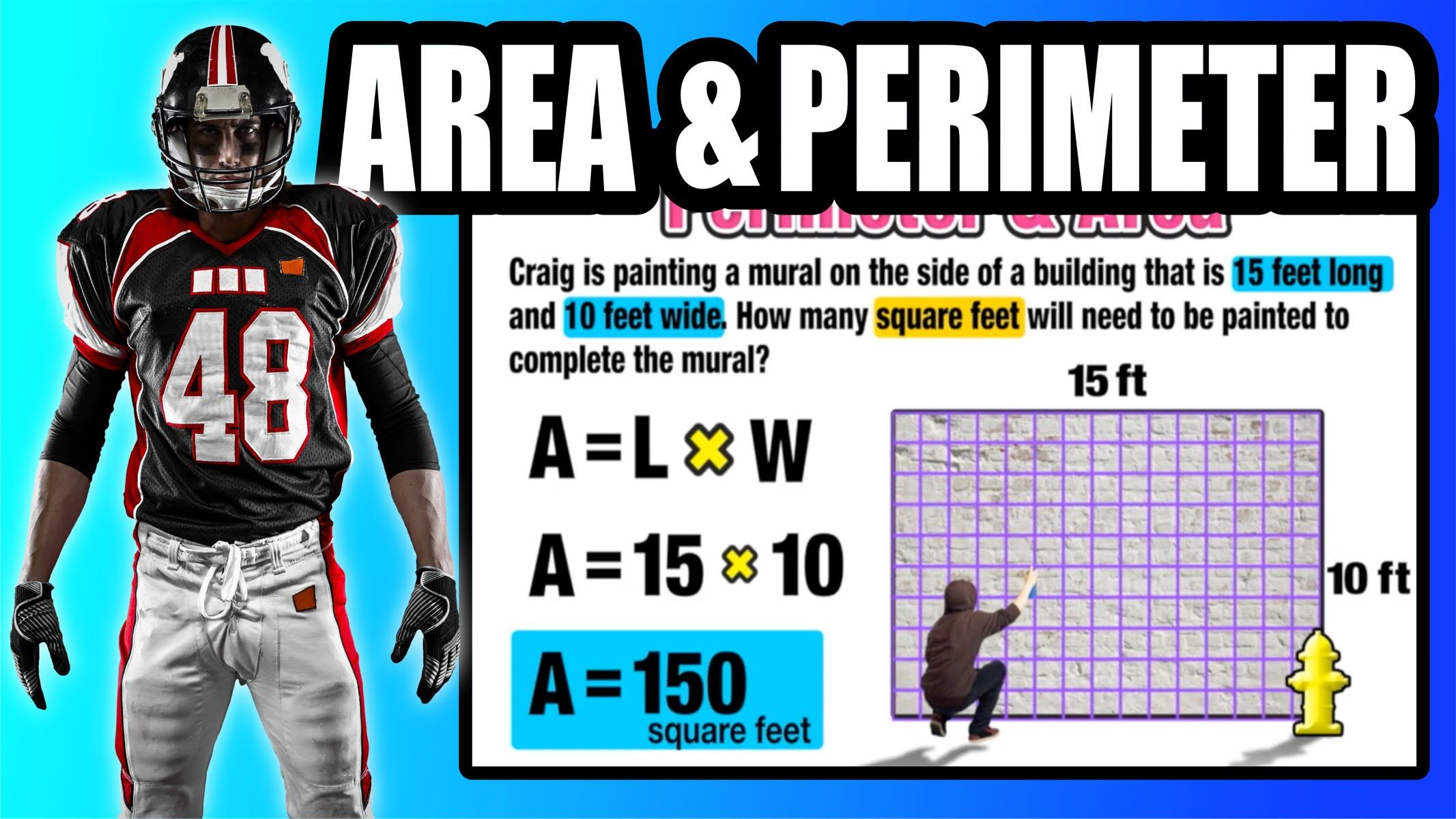 Find Area And Perimeter Of A Rectangle In The Real World