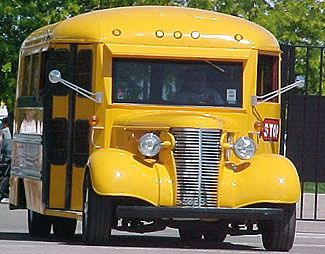 The Good Life Cool Bus School Bus Old School Bus School Bus