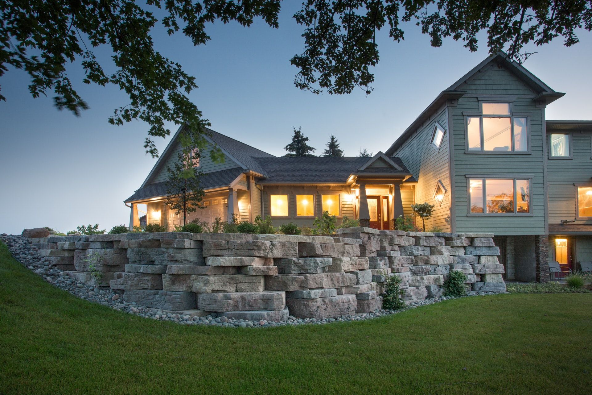 Landscaping Ideas with Outcropping Collection by Rosetta ... on Rock And Stone Outdoor Living id=35651