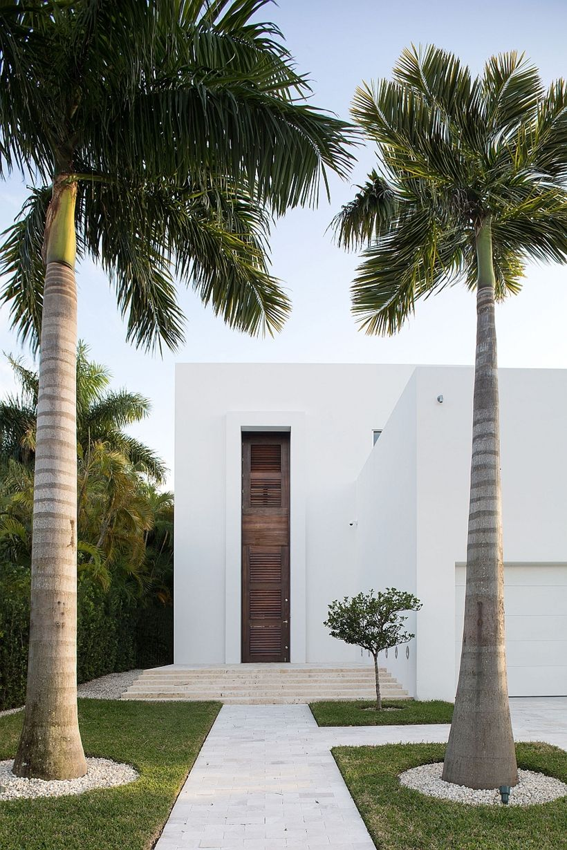 CR Concept: clean, white, linear, confident Modern Home Design Idea ...