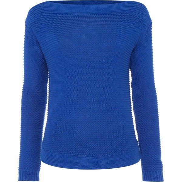 Lauren Ralph Lauren Vadrian boatneck jumper (7,435 INR) ❤ liked ...