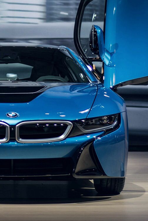 BMW i8 | BMW | i Series | blue | sedan | modern | dream car | Bimmer | concept car | car photography | Schomp BMW