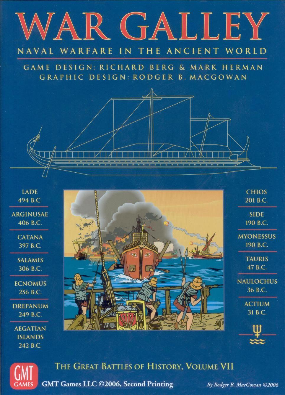 War Galley Simulation games, Board games, War