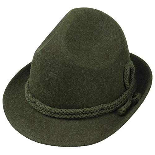 Photo of Lipodo Tricorn Wool Felt Hat Women / Men | Made In Italy Color Green Size 7