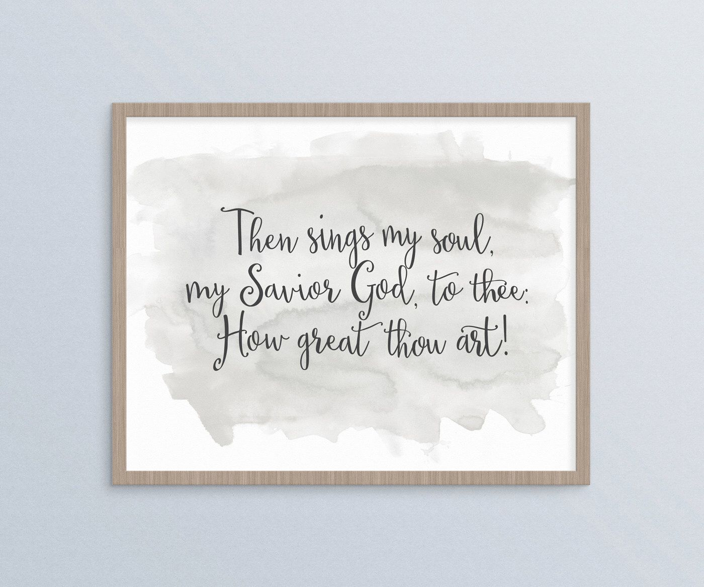 How great thou art hymn lyrics song quote christian