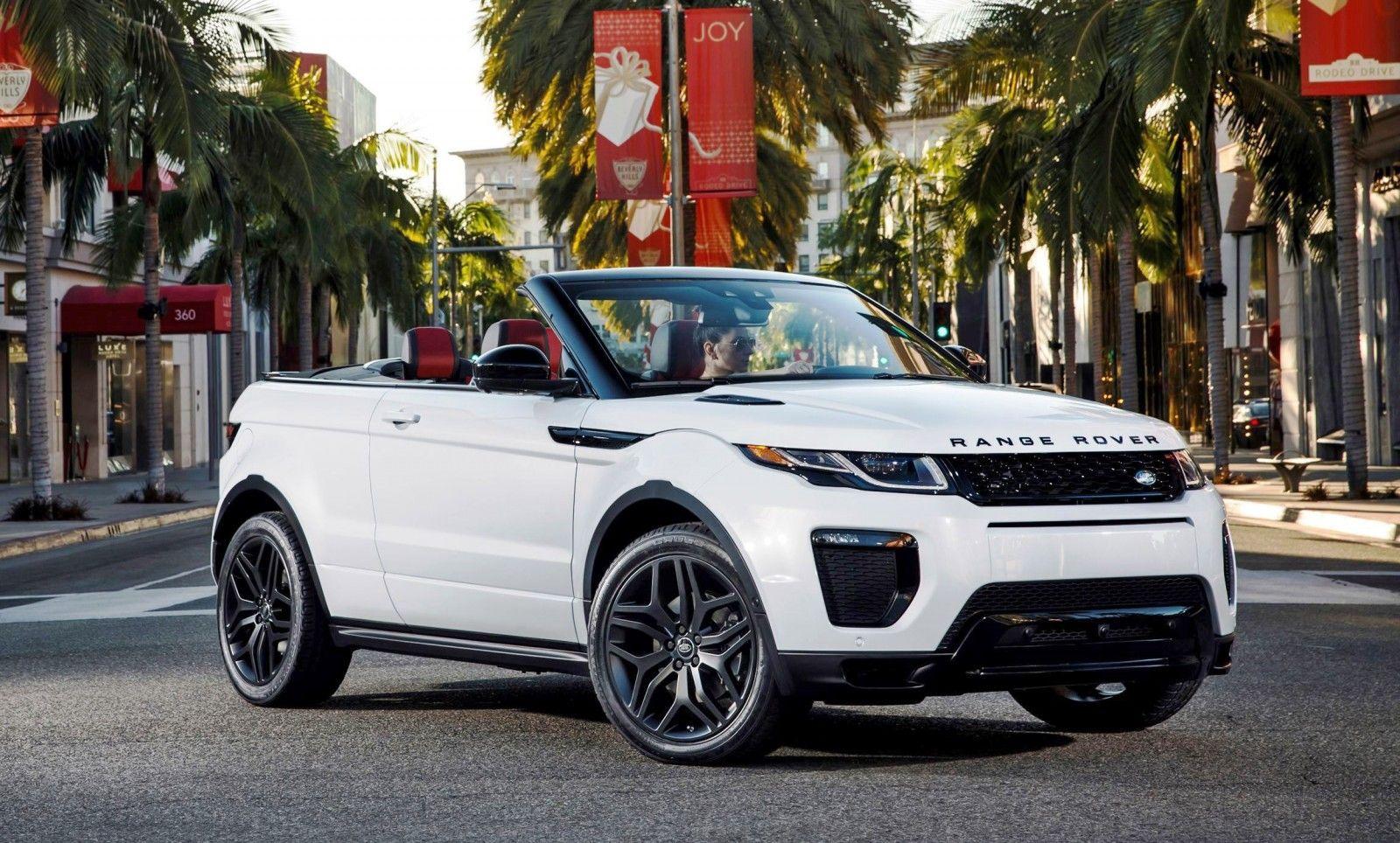2016 Range Rover Evoque Convertible La Range Rover Evoque Convertible Range Rover Convertible Luxury Cars Range Rover