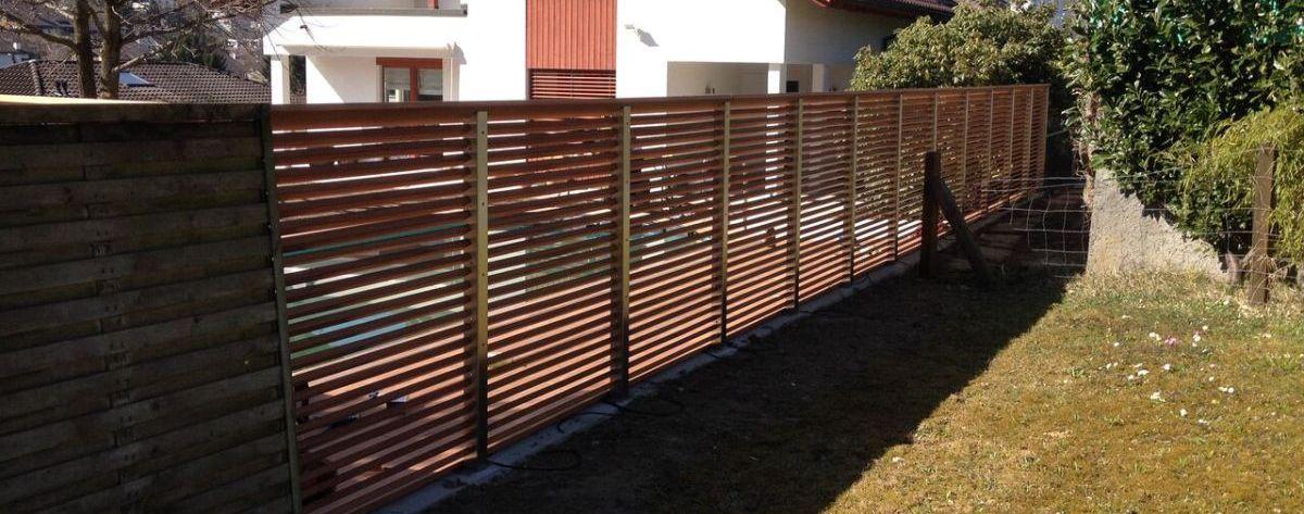 Einfacher Sichtschutz - Verblendung - www.sichtschutz ...