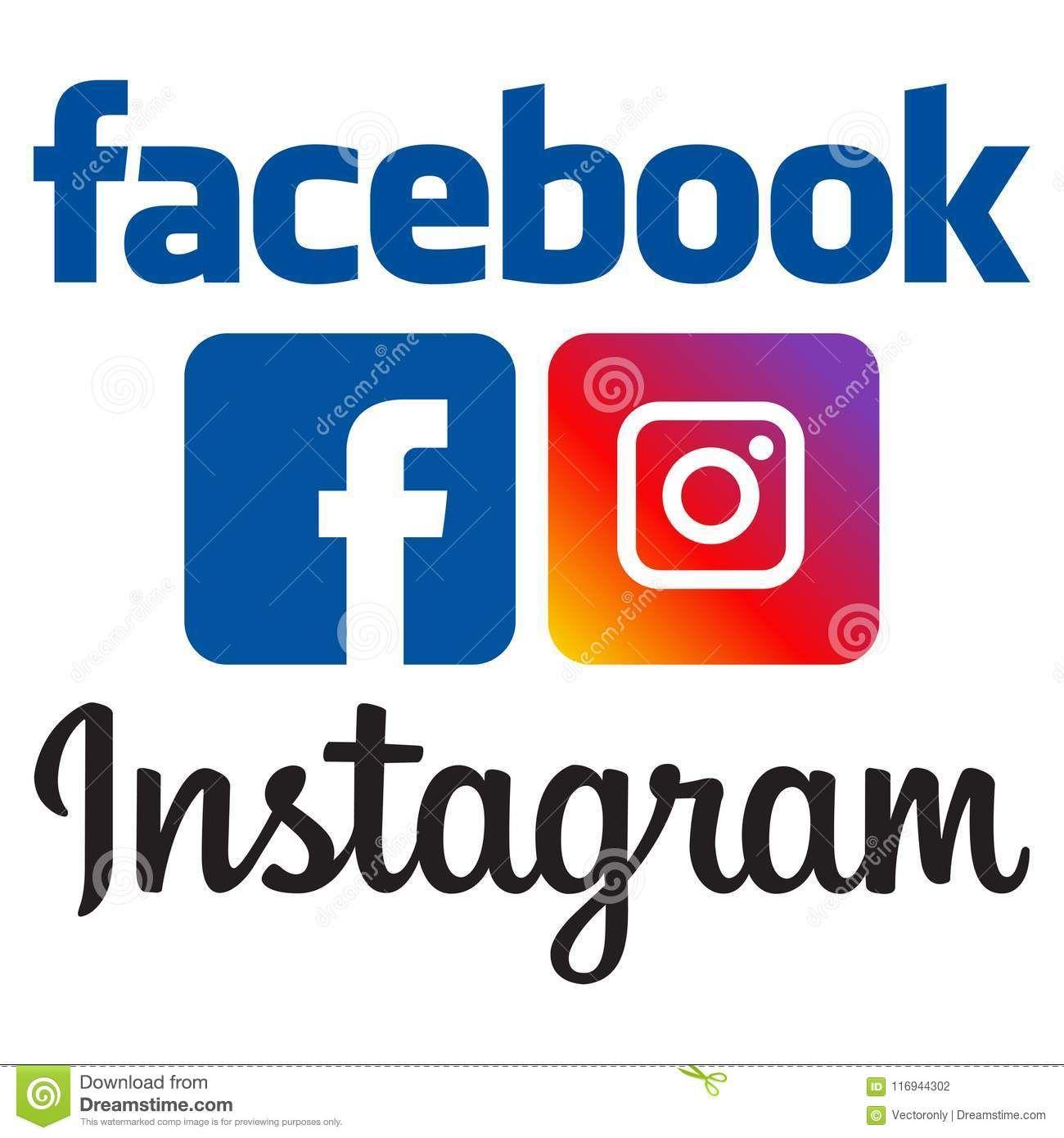 Facebook Instagram Logos Facebook And Instagram Logo Instagram Logo Instagram