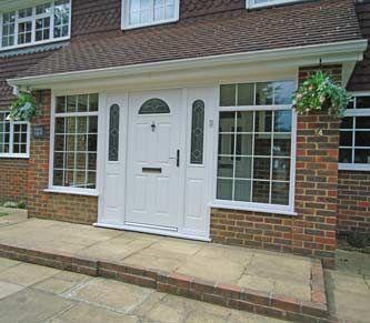 wide brick porches uk google search - Brick Canopy Ideas