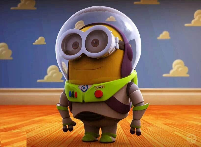 Buzz Lightyear minion