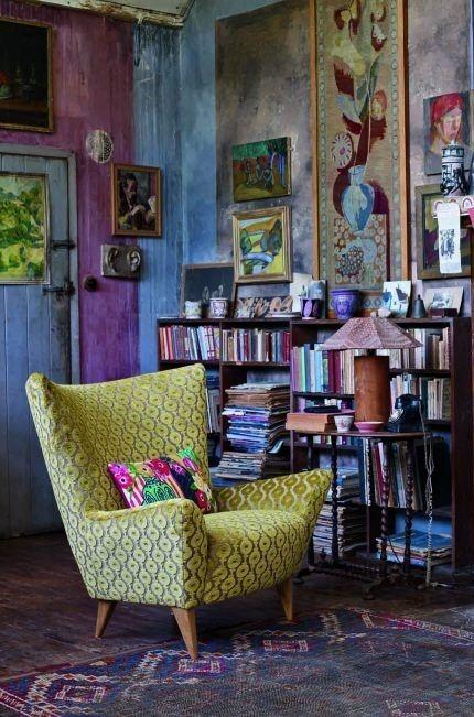 Charlestone Estilo Bloomsbury Salons Bohèmes Décoration
