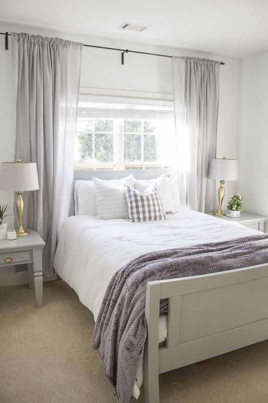 Makeover Madness Blog Hop Love Your Abode Small Master Bedroom Master Bedrooms Decor Master Bedroom Windows