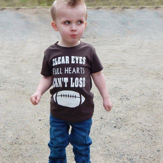 Clear eyes full hearts can't lose -  - texas forver - kids shirt - tim riggins - coach taylor - football - texas football #fridaynightlights