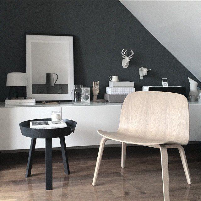 Bijzettafel Modern Design.Opstelling Muuto Around Bijzettafel En Visu Lounge Chair Via Gau