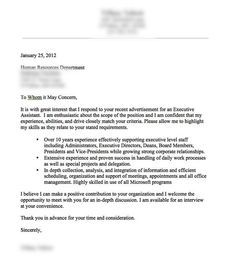A Very Good Cover Letter Example  My Favourites