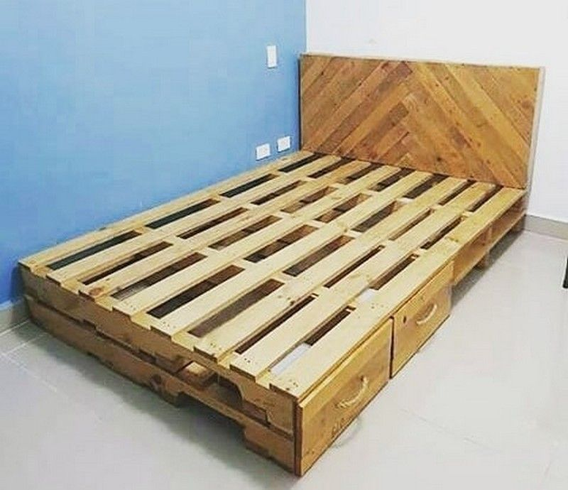Diy Recycling Ideas For Used Shipping Pallets Pallet Frames Pallet Furniture Pallet Ideas Easy