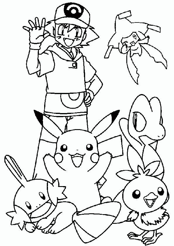 ausmalbilder pokemon- 2 | Basteln für Kinder | Pinterest | Pokémon