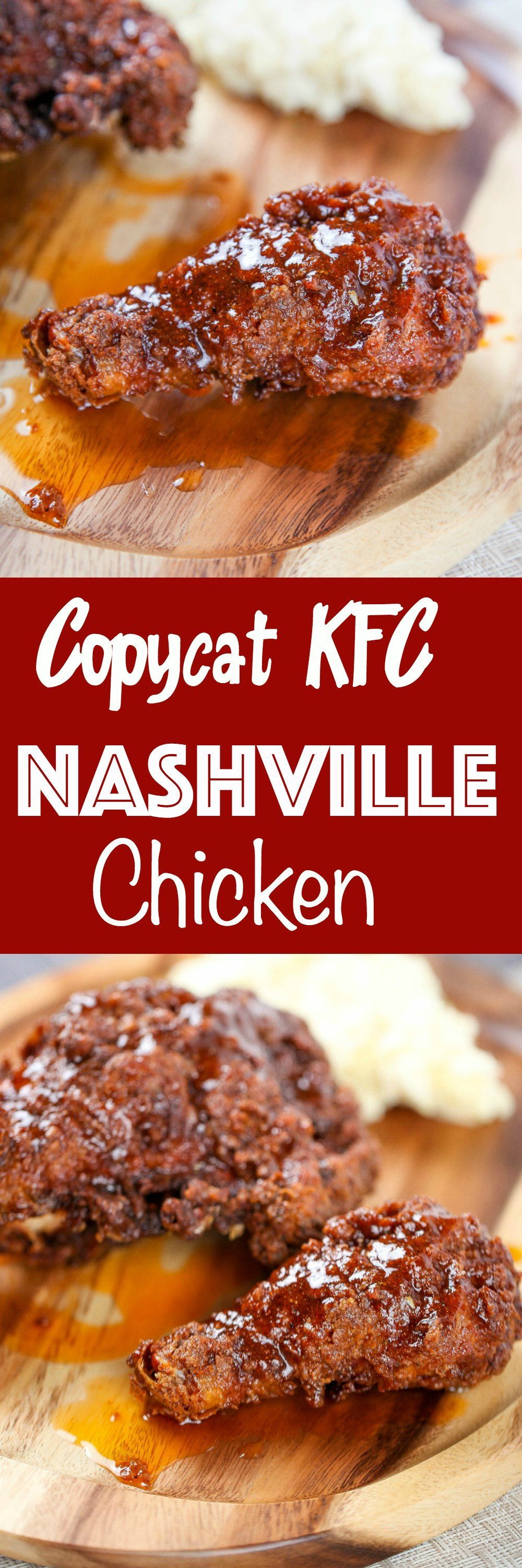 Nashville Hot Chicken KFC Copycat Ultra crispy fried