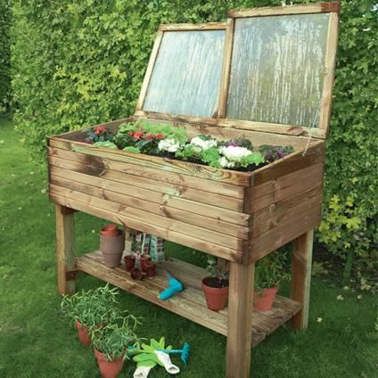 carr potager avec serre sur pieds solid 39 keukenhof 39 cr ation potager pinterest carr. Black Bedroom Furniture Sets. Home Design Ideas