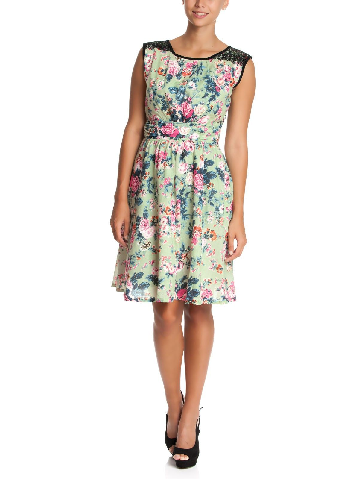 Vive Maria Happy Flower Dress green allover – Bild 2