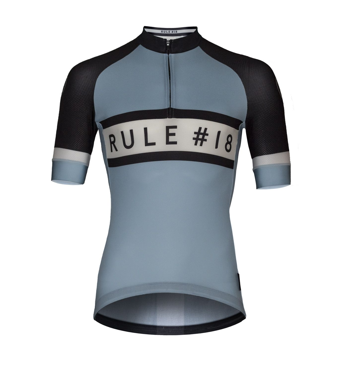 Rule 18 Men S Short Sleeve Cycling Jersey Retro Front Our Rule