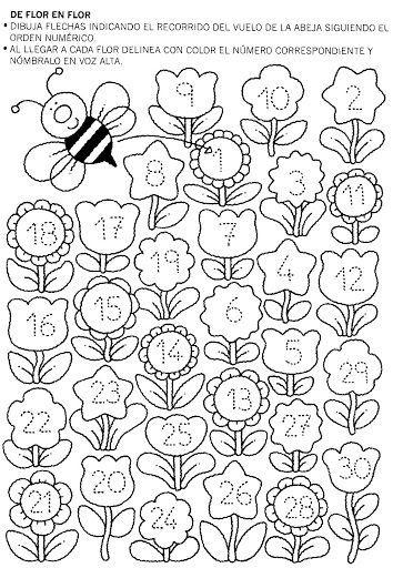 Numeromania marce zan lbumes web de picasa tablas for Actividades para jardin de infantes para imprimir