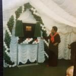 Maya Angelou opening a counselling centre for children in Moss Side in the early 1990s via @N1naJ