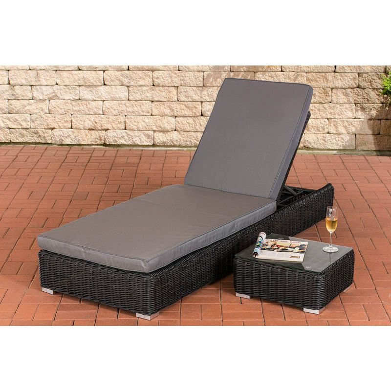 Transat Bain De Soleil Chaise Longue Outdoor Decor Sun Lounger Furniture