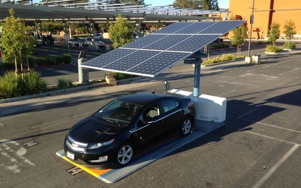 Solar Pv Charging Station Google Search Energies Pinterest