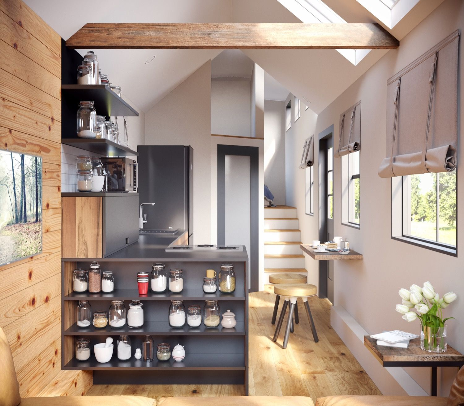 The Goose Tiny House by Tiny Heirloom | Tiny house | Pinterest